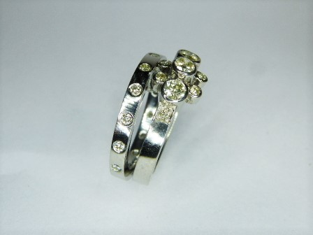 Platinum and Diamond Engagement and Wedding Rings The Workshop Lewes