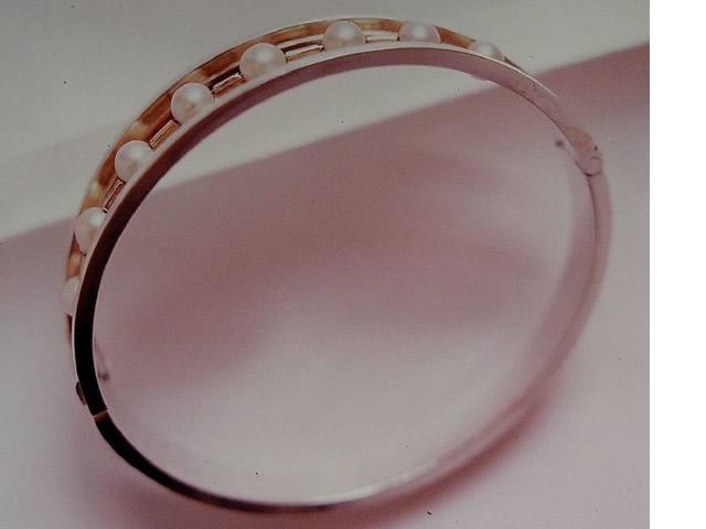 Pearl & Silvergilt bracelet